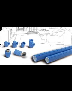 瓷芯系列双色PP-R给水管